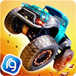 Monster trucks racing icono