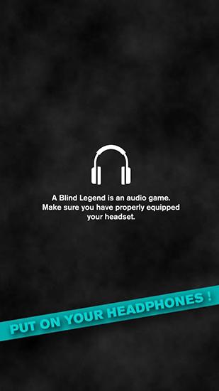 Arcade-Spiele A blind legend für das Smartphone