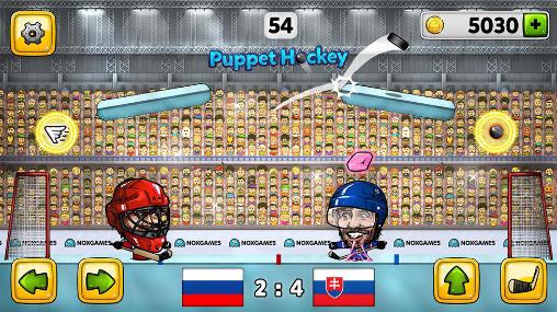 Sport Puppet ice hockey 2014 auf Deutsch