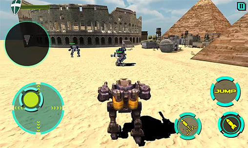 Clash of mech robots screenshot 1