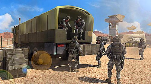 US army truck simulator auf Deutsch