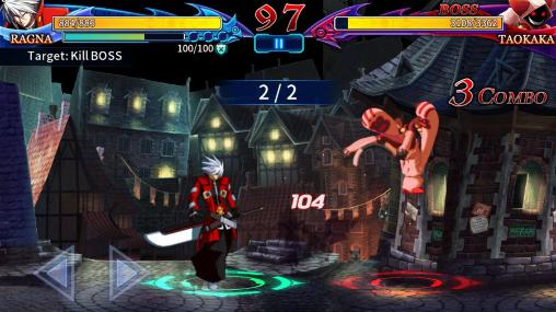 Blazblue: Revolution reburning. Fighting for Android