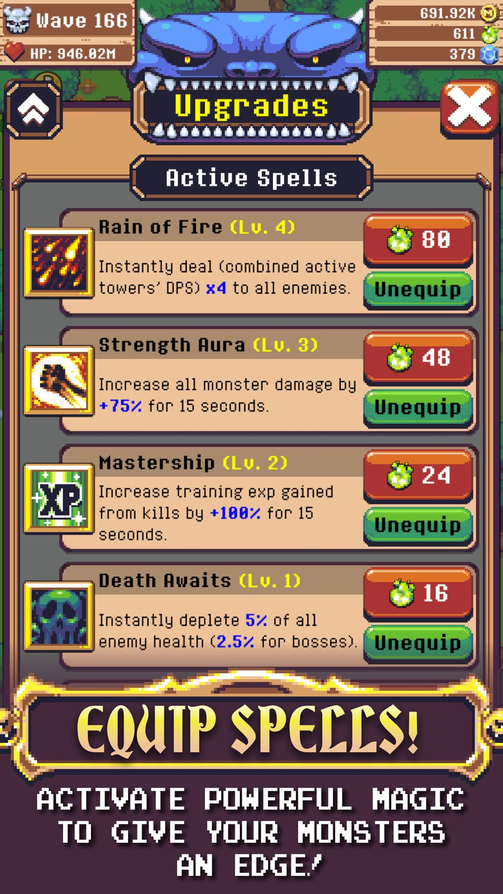 Epic Monster TD - RPG Tower Defense screenshot 1