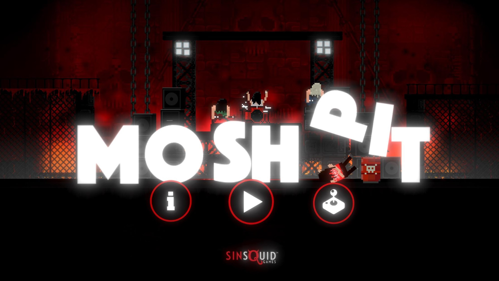Moshpit - Heavy Metal is war screenshot 1