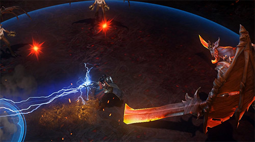 Diablo immortal capturas de pantalla