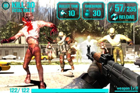 iGun zombie for iPhone for free
