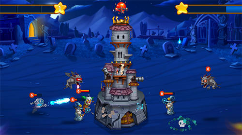 Spooky Wars: Battle of legends для Android