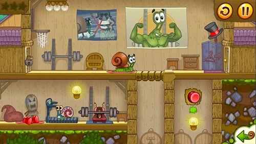 Arcade-Spiele: Lade Schnecken Bob 2 auf dein Handy herunter