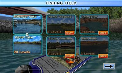 Bass Fishing 3D on the Boat for Android