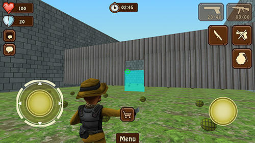 Actionspiele Ministrike für das Smartphone