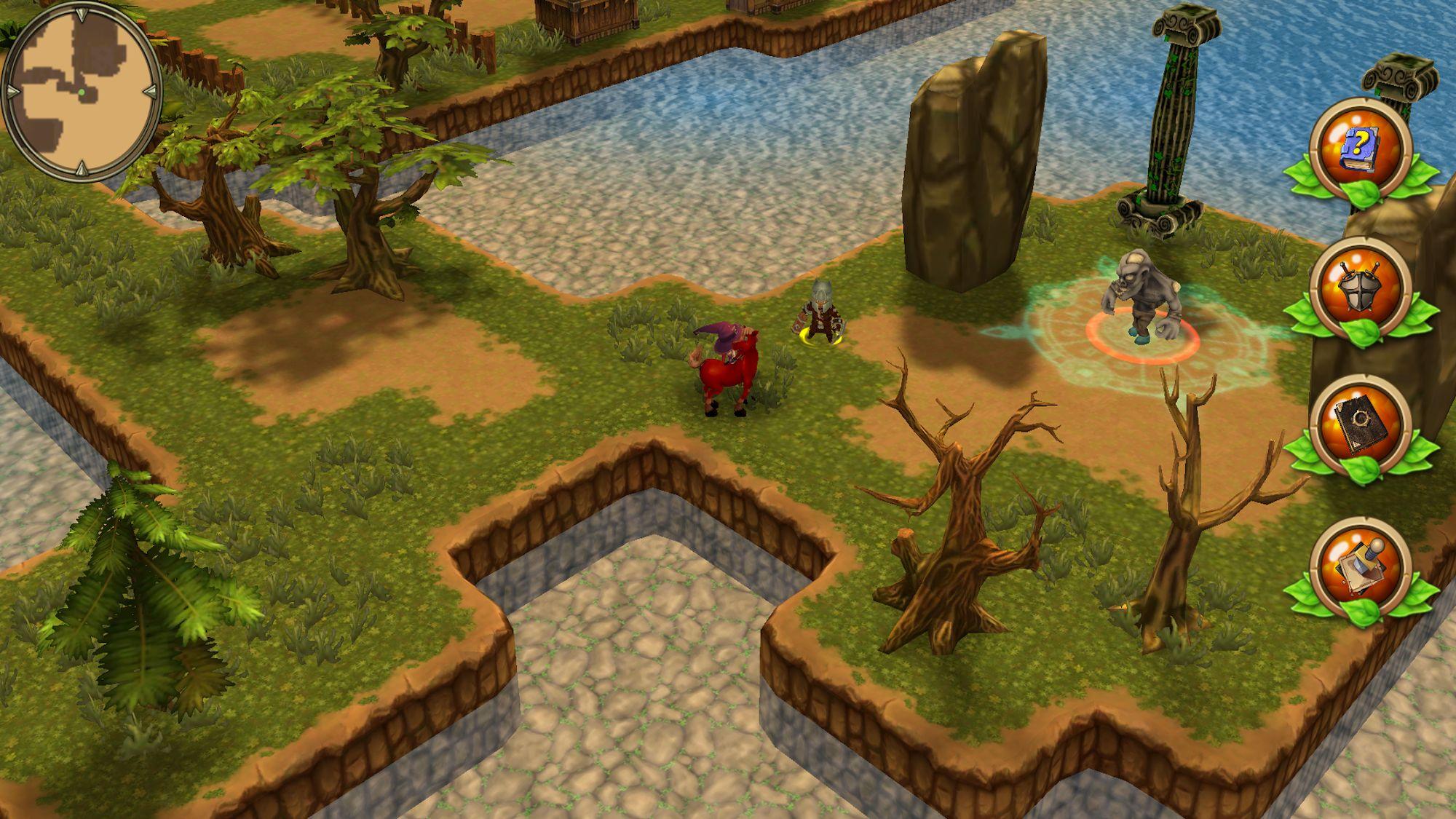 Kings Hero 2: Turn Based RPG скріншот 1