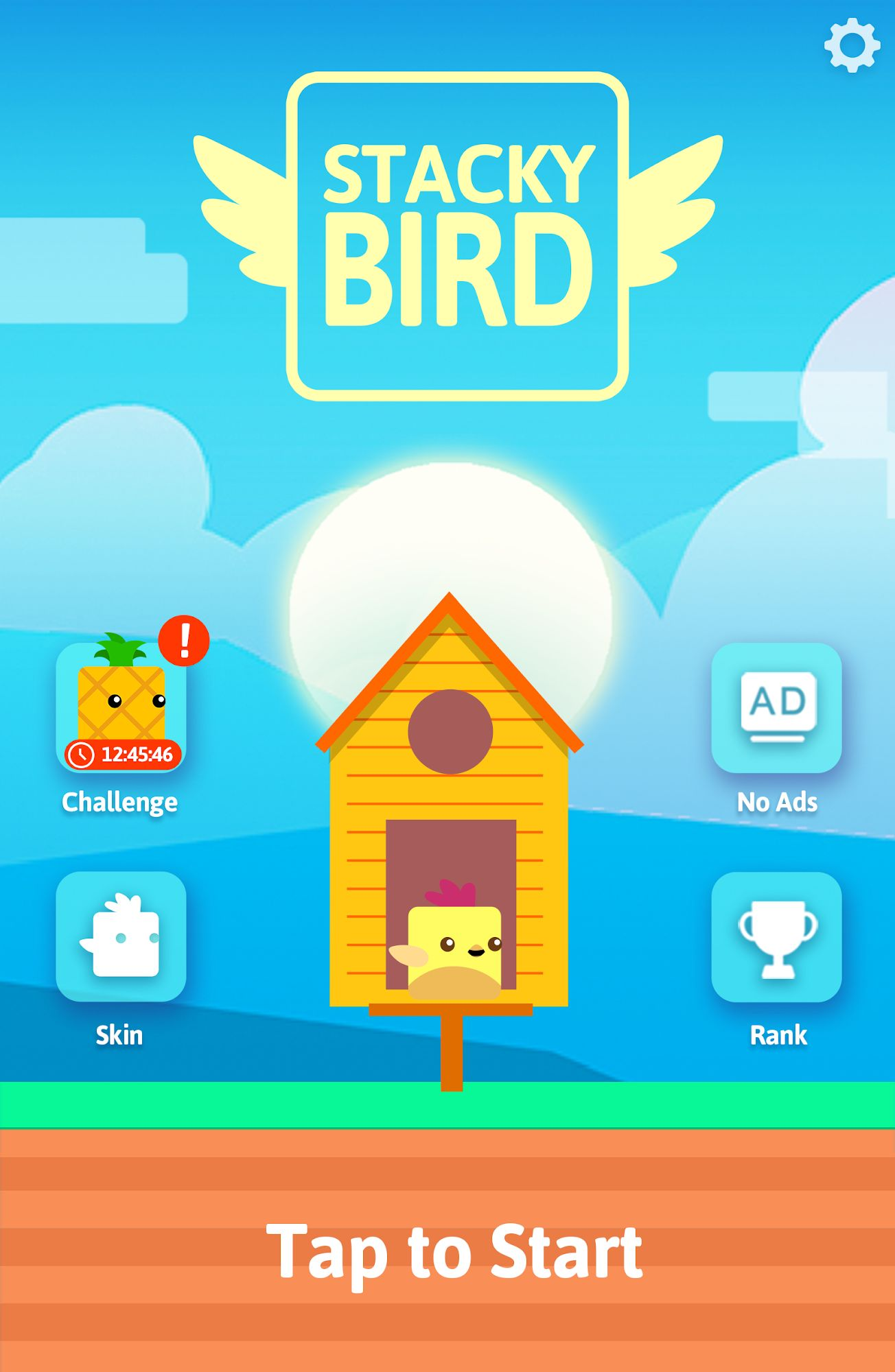 Stacky Bird: Hyper Casual Flying Birdie Game screenshot 1