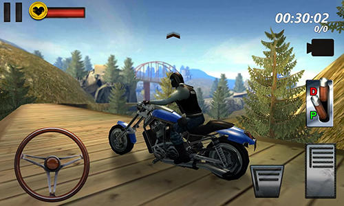 Motorcycle hill climb sim 3D für Android