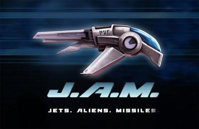 logo JAM: Jets Alien Raketen