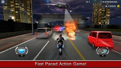 Racing games Dhoom:3 the game for smartphone