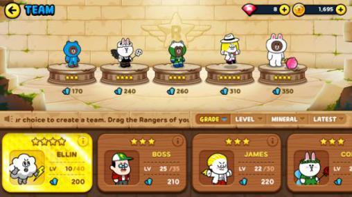 Line rangers für Android