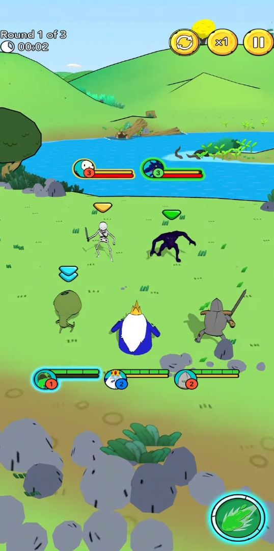 Adventure Time Heroes captura de tela 1