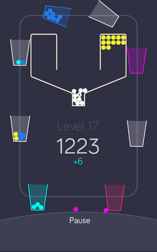 100 balls with the cups für Android