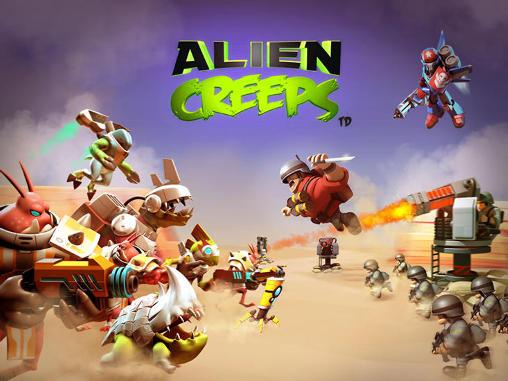 Alien creeps TD screenshot 1