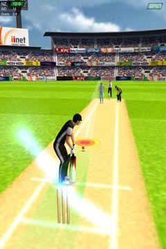 Cricket - Spiel auf Deutsch