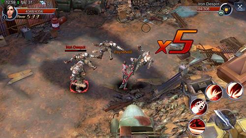Alita: Battle angel. The game captura de tela 1