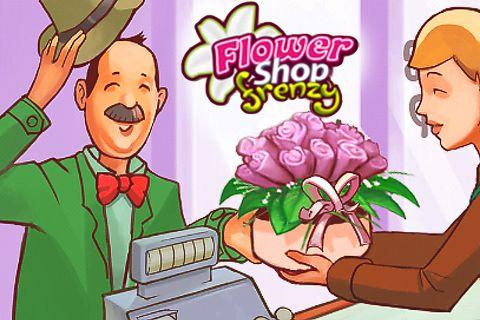 логотип Весёлый цветочный магазин