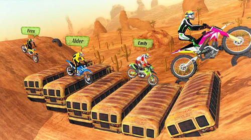 Motocross racing pour Android