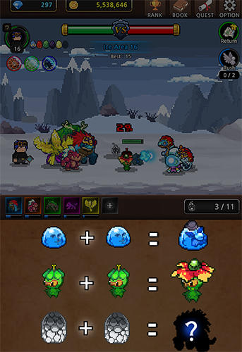 Merge monsters Screenshot