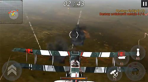 Flight simulator games Ace of sky in English