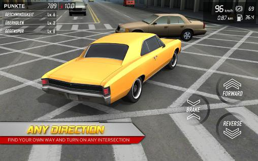 Racing games Streets unlimited 3D for smartphone