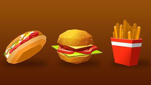 Kulinarischen Spiele Burger chef: Cooking sim 2 auf Deutsch