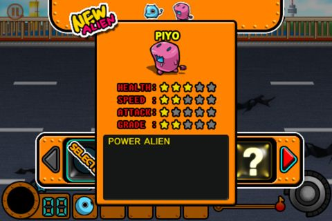 Alien raid for iPhone for free