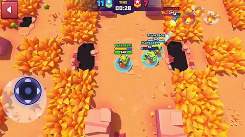 Juegos de arcade Tanks a lot! Online battlegrounds brawls para teléfono inteligente
