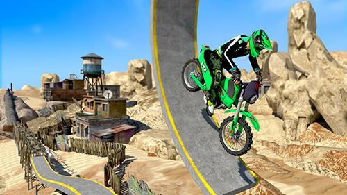 Real bike stunts für Android