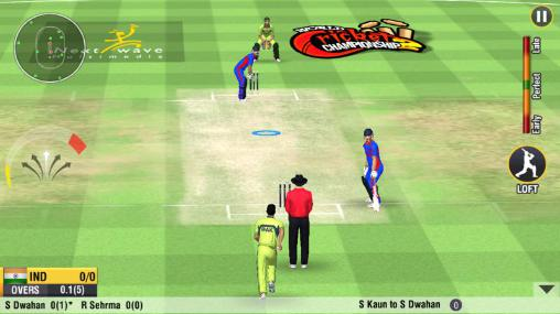 World cricket championship 2 скріншот 3