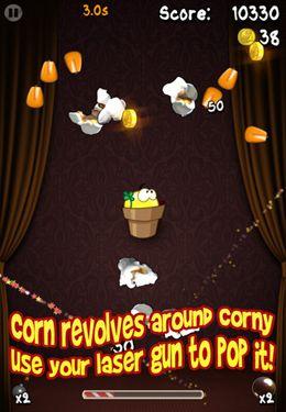 Screenshot Pop Corny auf dem iPhone