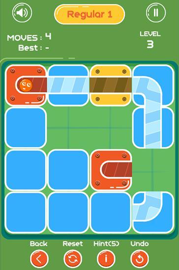 Unblock ball: Slide puzzle скриншот 1