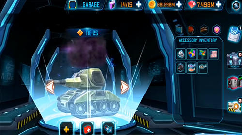 Rise of tanks: 5v5 online tank battle für Android