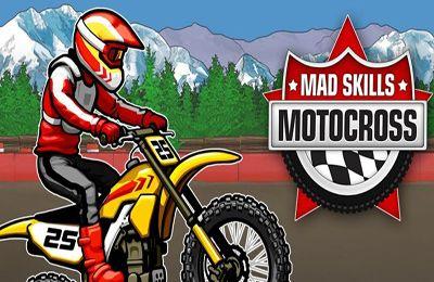 логотип Безумный Проф Мотокросс