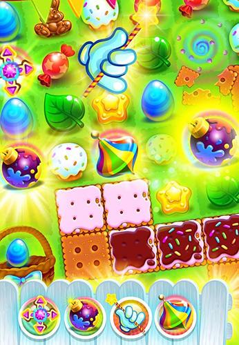 3 Gewinnt Easter sweeper: Eggs match 3 auf Deutsch