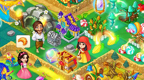 Mergewood tales: Merge and match fairy tale puzzles für Android