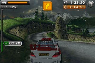 Screenshot Rally Meister Pro 3D auf dem iPhone