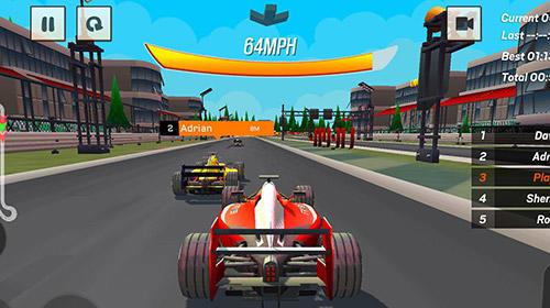 Rennspiele Formula 1 Racing championship für das Smartphone