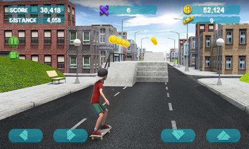 Street skater 3D 2 Screenshot