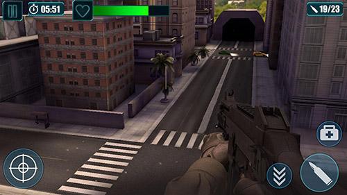 Actionspiele Scum killing: Target siege shooting game für das Smartphone