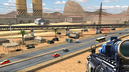 Highway sniper shooting: Survival game для Android