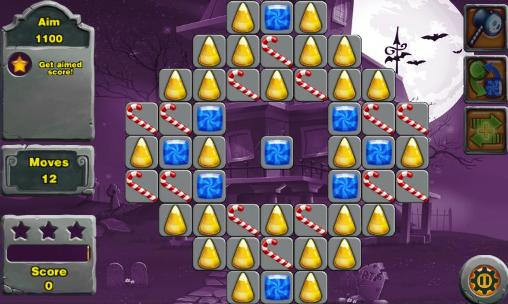 3 Gewinnt-Spiele 3 candy: Sweet mystery auf Deutsch
