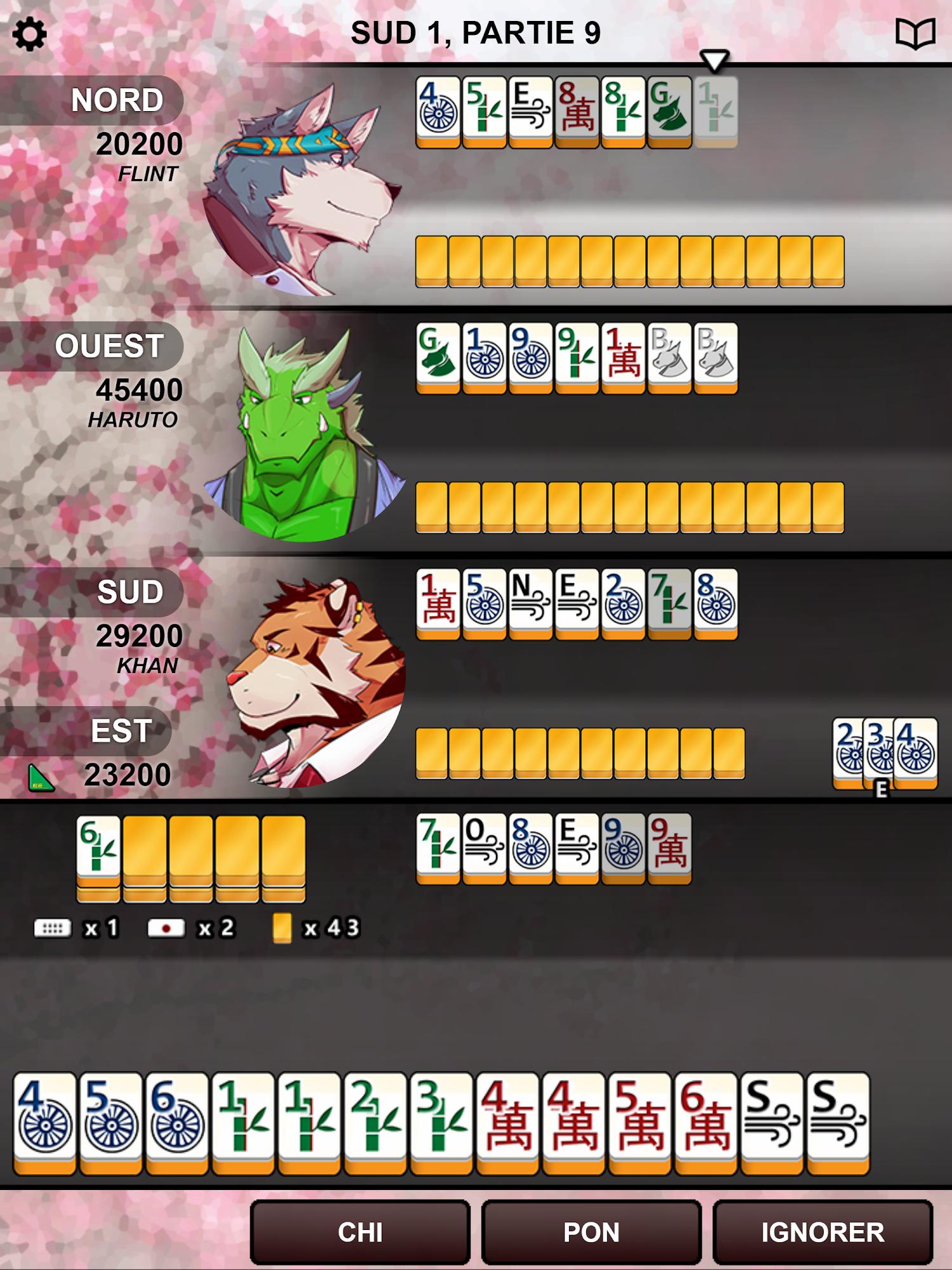 Kemono Mahjong pour Android