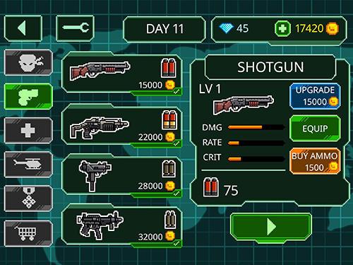 Action Metal guns fury: Beat em up für das Smartphone