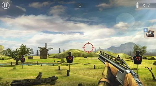 Schießstand-Spiele Skeet shooting 3D auf Deutsch